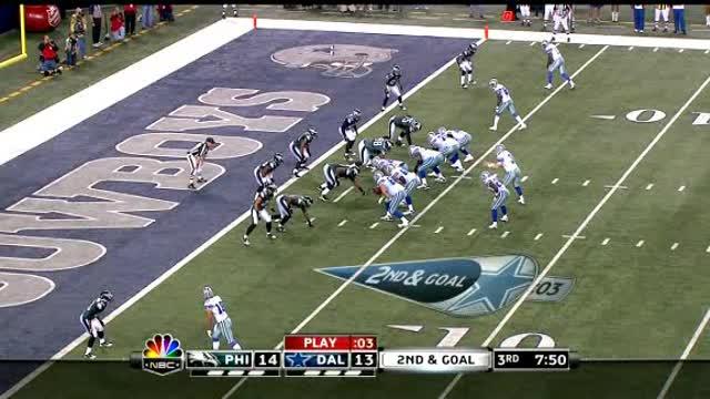Eagles Win Over Cowboys.