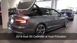 S5 Cabriolet. Pure Open Air Luxury @ Audi Princeton