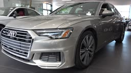 Audi 2019 A6 @AudiPrinceton Super Tech and Savvy!