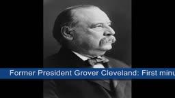Grover Cleveland - (Princeton) 1892 campaign speech