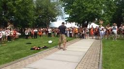 Reunions 2019 Alumni Arch - Whitman Courtyard