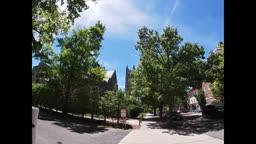 Walking In Princeton NJ - meeting Einstein.
