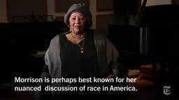 Remembering Toni Morrison, An Iconic American Princeton