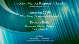 Rebecca Kelly Champion for Business Princeton Mercer Chamber