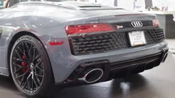 2020 Audi R8 V10 Spyder Quattro - WOW!  @AudiPrinceton NOW