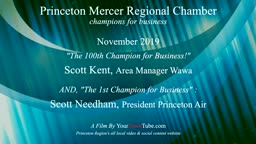 100th & FIRST Champion for Business Princeton Chamber