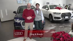 Greg and Brandon Happy Holidays from AudiPrinceton!