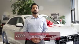 Hisham Alfanek Happy Holidays from AudiPrinceton!