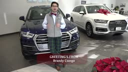 Brandyn Csorgo Happy Holidays from AudiPrinceton!