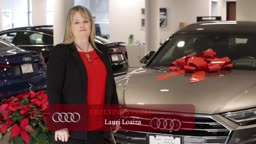 Lauri Loaiza Happy Holidays from AudiPrinceton!