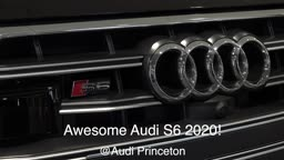 Wow Technology, Beauty & Luxury Performance 2020 Audi S6 @AudiPrinceton