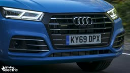 NEW Audi 2020 Q5 hybrid review by Driving Electric @audiprinceton