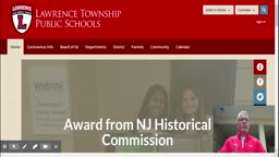 Lawrence Township update on the coronavirus, remote learning.
