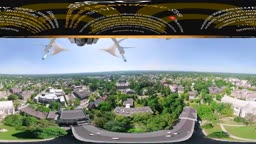 PRINCETON in 360° (drone/walking/driving campus tour)