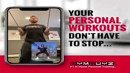 Virtual Training with GYMGUYZ Princeton