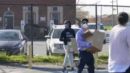 Trenton students get laptops during pandemic