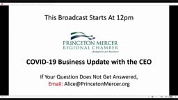 Addressing The Concerns Of The Business Community - Princeton Chamber
