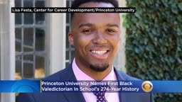 Princeton University Names its 1st Black Valedictorian