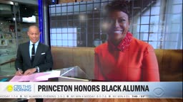 Princeton University honors Black alumna with site once named for Woddrow Wilson.