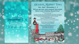 PMA Holiday Market Days 2020 @Princetonnj