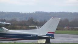 Princeton Airport Cessna Skyhawk Takeoff & Beechcraft Baron Landing