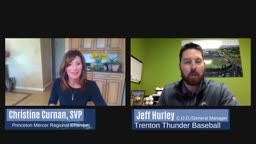 Chamber LIVE Interview with Trenton Thunder Jeff Hurley