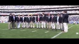 Tigertones perform national anthem in San Diego