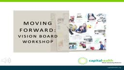 Vision Boards NJ Hope and Healing Capital Health