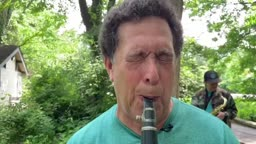 Cicada Music in Princeton Jamming with Cicadas