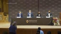 MacMillan discusses Nobel win at Princeton