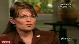 Charles Gibson Princeton Grad Interviews Sarah Palin 9/11/0