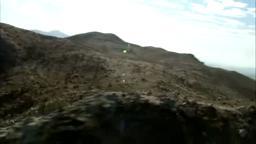 Navy Seal Coggins Trains in Desert.