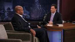 Michelle Obama's Brother, Princeton Grad Craig Robinson, 1st Brother-In-Law Part 2 on Jimmy Kimmel Live