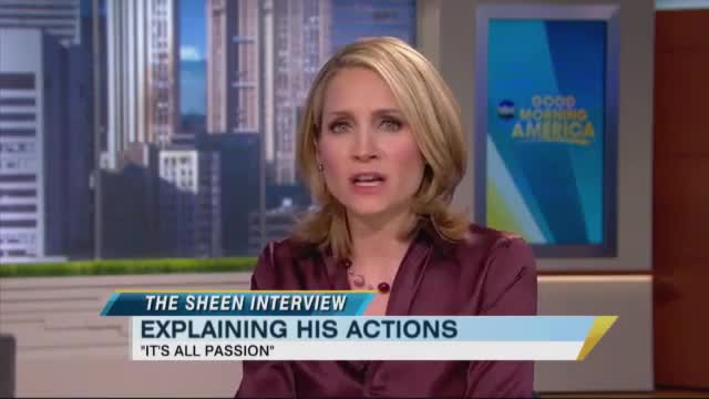Infamous Charlie Sheen Interview. Wow!