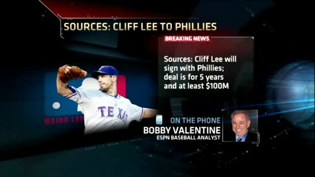 Lee, Bobby Valentine On Why Cliff Lee To Phillies