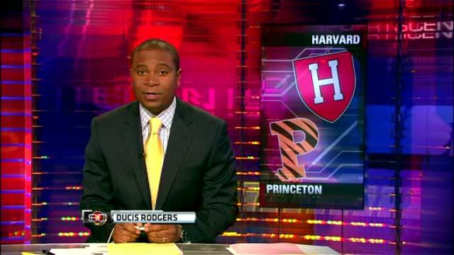 Princeton Beats Harvard - Gains Ivy Crown