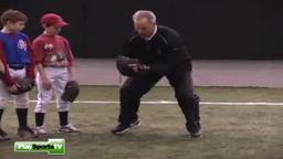 Youth Baseball Drills: Throw with Crow Hop, Coach Bradley