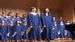 PHS Choir, Princeton High School Choir in Barcelona