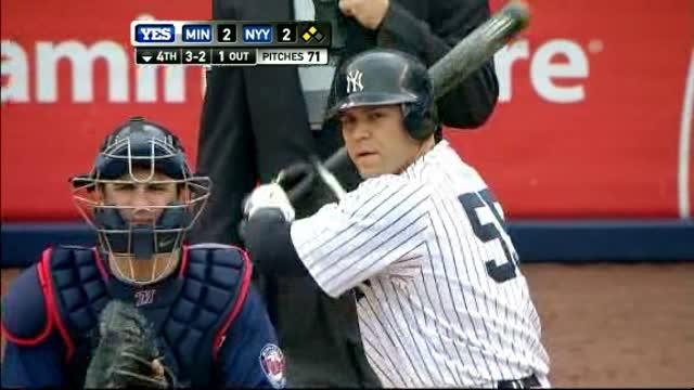 Yankees Top Twins.