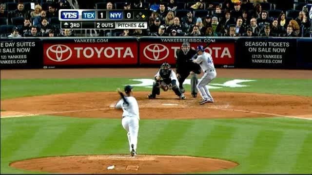 Yankees Lose to Rangers.