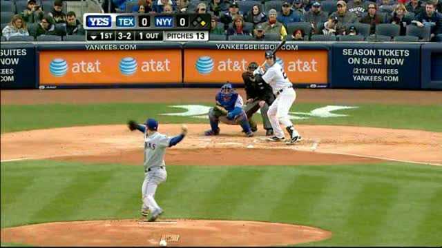 Yankees Beat Rangers