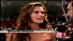 On the Carpet at 2008 Emmys Brooke Shields