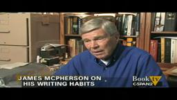 Pulitzer Prize Winner Princeton Prof ‪James McPherson on his