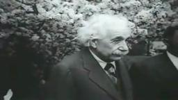 Rare Einstein Speech Footage.