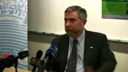 Nobel Prize Winner Paul Krugman, Princeton, Nobel Speech