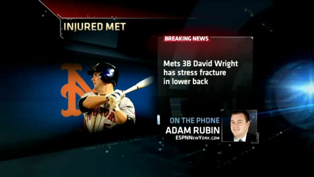 Mets Wright Injured