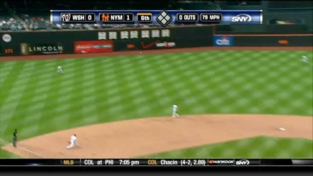 Gee Leads Mets