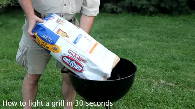 How To Light A Grill In 30 Seconds
