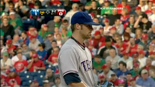 Phils Over Rangers