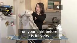How to Iron a Shirt.